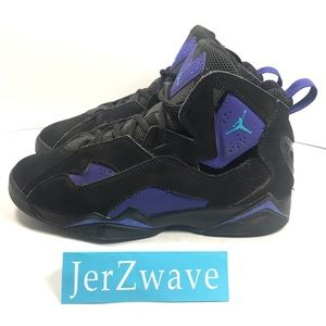Nike True Flight BG Sneakers Black/Purple Size 7